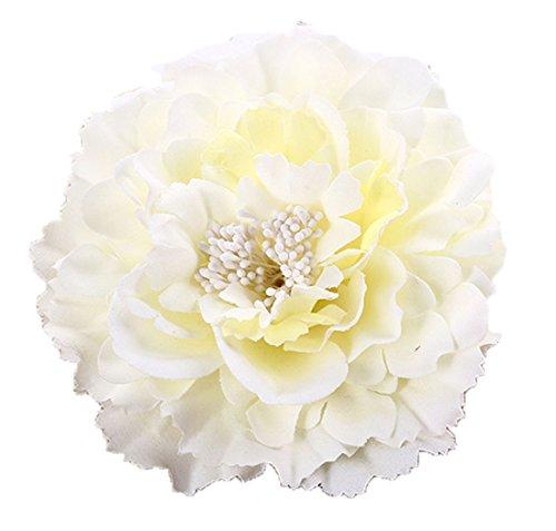 (Floral Fall Peony Flower Hair Clip Flamenco Dancer Pin up Flower Brooch HC-01)