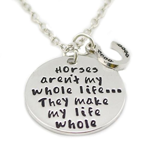 Horse Charm Necklace - 6