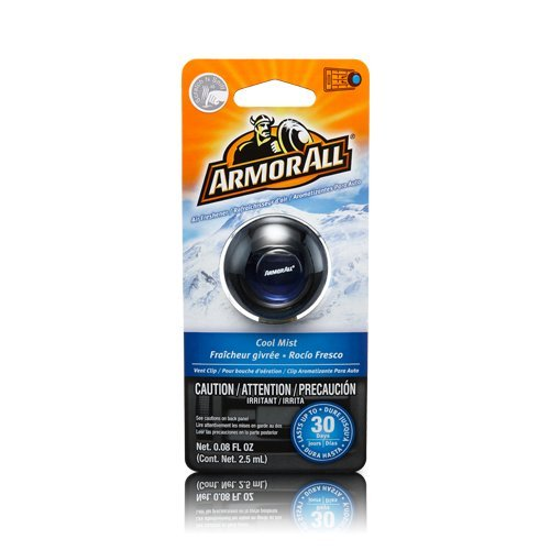 Armor All 17800 Air Freshener Vent Clip, Cool Mist Scent - 24 pack