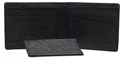 Mens Smooth Wallet Buttercup Exotic Ferrini Bifold AA8BF Ostrich Pocket 5qBxwpw