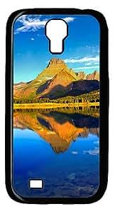 Mountain Lake Custom Designer Samsung Galaxy S4 SIV I9500 Case Cover - Polycarbonate - Black