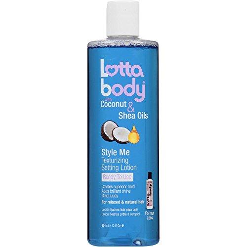 Lottabody Texturizing Setting Lotion, Original Formula, 8-Ounce Bottles (Pack of 6)