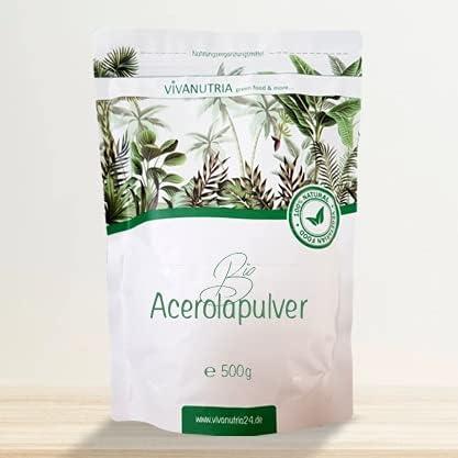 Hanoju Bio Acerola Pulver 250g Nahrungsergänzungsmittel 12,78€//100g