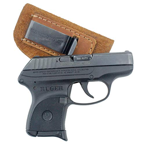 Relentless Tactical The Ultimate Suede Leather IWB Holster - Made in USA - Fits Most Small 380 Handguns - Ruger LCP and Similar