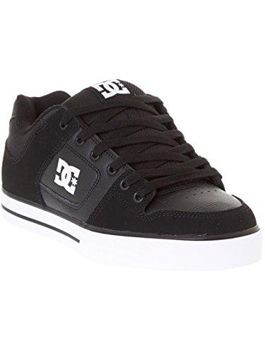 DC SHOES Pure Herren Sneaker, D0300660, Schwarz, 40.5 EU