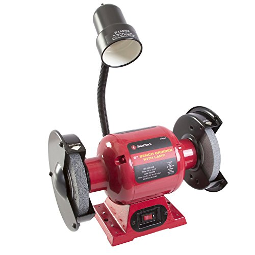 Great Neck 80058 6 Inch Bench Grinder with Lamp