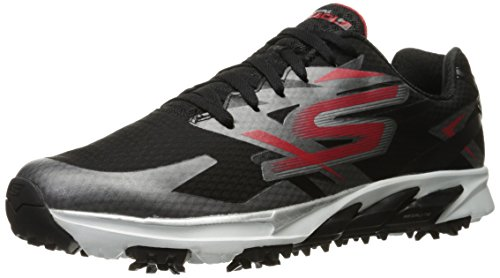 Skechers Performance Men's Go Golf Blade Golf Shoe, Red/Black, 11.5 M US (Skechers Golf Shoes compare prices)
