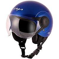 Vega Open Face Atom Blue Helmet-M