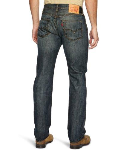 Nero Levi's dusty Fit Uomo Original Jeans 501 Straight 0039 Black YTrnYS