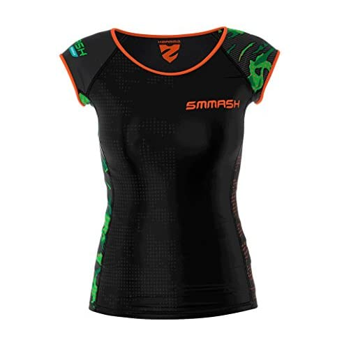 Smmash Femme Compression Fit T-Shirt MILITARY Taille XS - XL