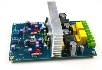 L15DX2 IRS2092 Class D Amplifier Finished Board Two Channel IRAUDAMP7S 125-500W Jolooyo