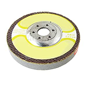 """uxcell® 4"""" Outside Dia. 220 Grit Whetstone Grinding Wheel 9/16"""" Thick"""