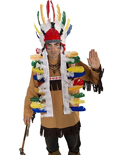 Indian Headdress Costume Accessory for Adults