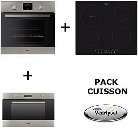 Whirlpool – Set de cocina:Horno pirolítico + Placa de cocción a ...