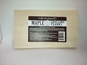 Maple Grilling Planks by Northwoods Smoke of Minnesota