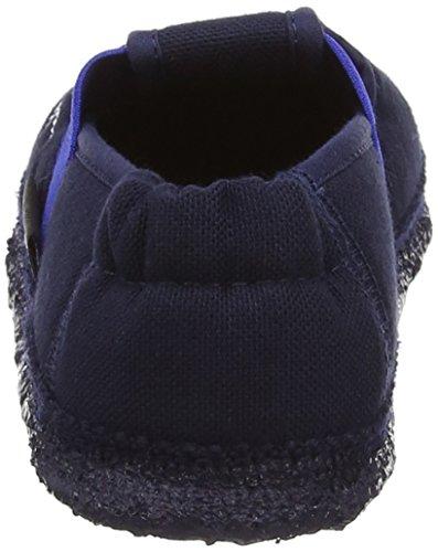 Nanga Leila - Chaussures Premier Bébé Étapes Laine - Unisexe, Bleu - Blau (dunkelblau), 26