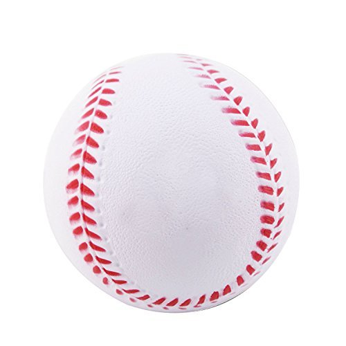 Training Foam Baseballs (B1ST Practice Baseballs Foam Softballs Training Sporting Batting Soft Ball White 9 Inch Pack of 12)