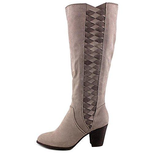 Fergalicious Cally Damen US 9.5 Grau Mode-Knie hoch Stiefel