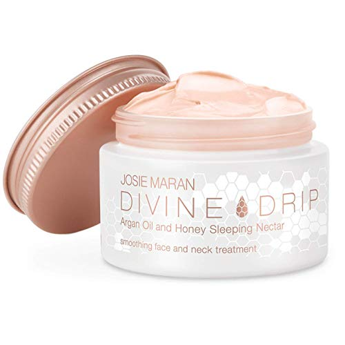 Butter Drip - Josie Maran Divine Drip Argan Oil and Honey Sleeping Nectar - Rejuvenates Depleted Skin Making it Beautiful and Bright (45g/1.6oz)