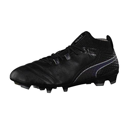 Homme Rouge 1 de Silver Blanc 17 Football One Puma Chaussures FG Noir v077gq
