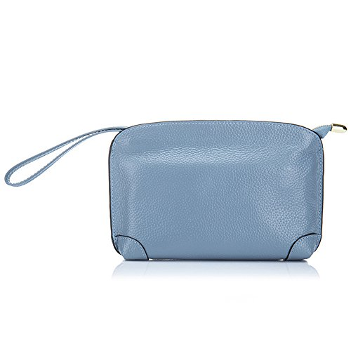 Aladin Evening Wristlet Cell Unique Light Leather for Wallet Women Blue Purse Small Handbag Bag Clutch Phone 0rq0a5