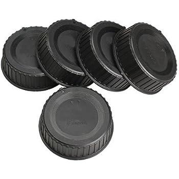 Vktech® 5pcs Rear Lens Cap Cover for All Nikon AF AF-S DSLR SLR Camera LF-4 Lens
