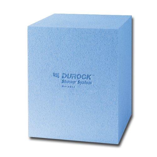 USG Durock Shower System- 16 x 20 x 16 Shower Bench - Square by USG