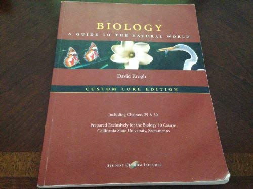 Biology - A Guide to the Natural World : Custom Core Edition