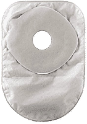 Convatec ActiveLife One-Piece Closed-End Pouch with Filter, Cut-to-fit Stomahesive Skin Barrier and One Sided Comfort Panel 3/4