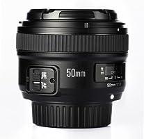 Lente Prime estándar Yongnuo 50 mm F1.8 1:1.8, apertura grande, AF ...
