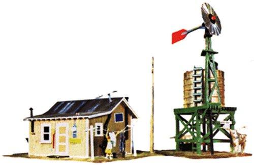 Life-Like Trains  HO Scale Building Kits - Western Homestead Scale Building