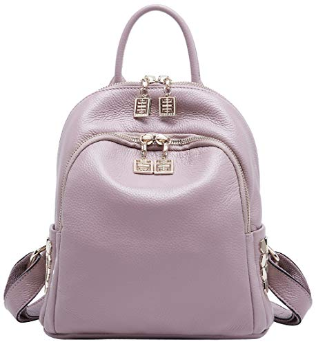 en à BOYATU Taro sac cuir sac à Rucksack femmes les pour Mini Véritable Daypack main Rose dos Fashion EIxEBHpq