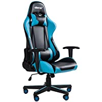Merax PP036127CAA High Back Gaming Chair with Lumbar Support and Headrest