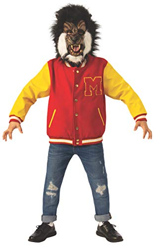 Michael Jackson Child's Thriller Werewolf Jacket and Mask Set Costume, Medium]()