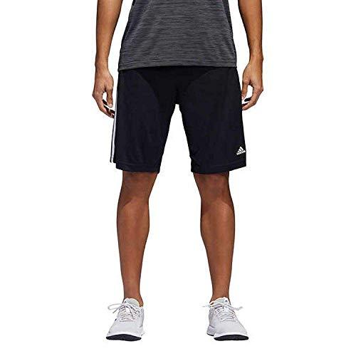 - adidas Mens Performance Climalite Triple Stripe Gym Athletic/Training Shorts (Black, XX-Large)