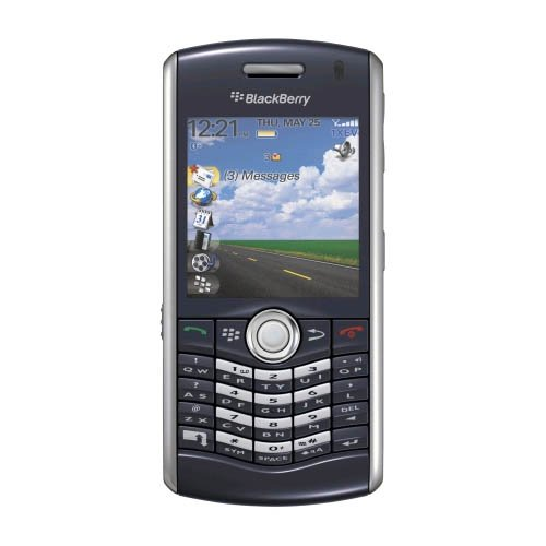Blackberry Pearl Cdma (BlackBerry Pearl 8130 PDA Phone, Bluetooth, Camera, for nTelos (Amethyst Blue))