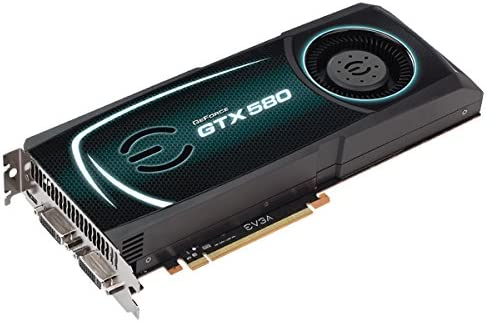 EVGA GeForce GTX 580 Superclocked 1536 MB GDDR5 PCI Express 2.0 2DVI//Mini-HDMI SLI Ready Limited Graphics Card 015-P3-1582-AR