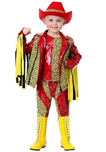 Macho Man Randy Savage Toddler Costume 4T Red -