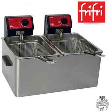 Frifri Eco 6 + 6 Professional doble Platillos de freidora 2 x 5L 2 ...