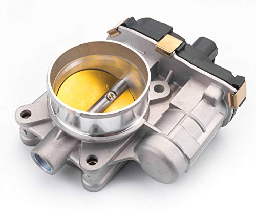 Tecoom 12631186 Professional Throttle Body for Buick Chevrolet GMC Pontiac Saturn 2.4L Cars.