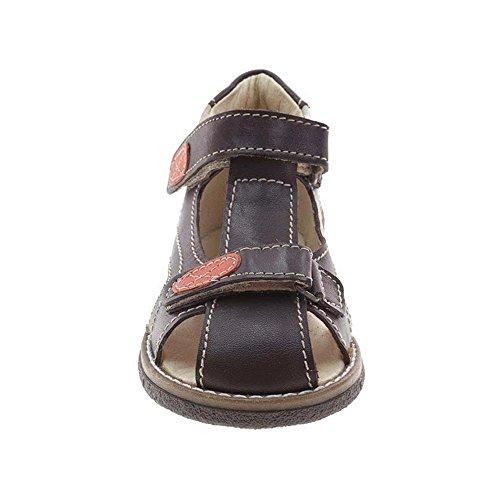 Beppi - Sandalias de vestir de Piel para niño Marrón marrón
