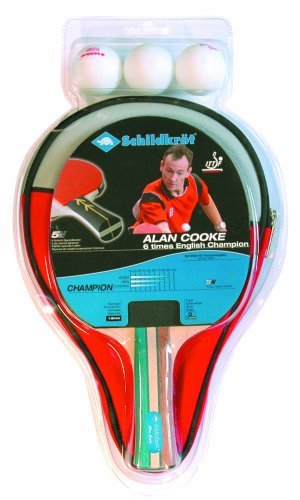 Schildkrot Alan Cooke Champion 1 Player Table Tennis Set by Schildkrot by Schildkrot