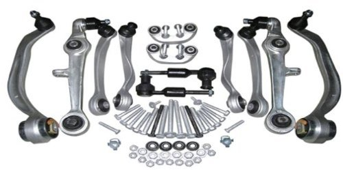 Mac Auto Parts 67801 Audi A4 A6 S4 Volkswagen Passat B5 Control Arms Kit Quattro SUSPENSION New (Audi A4 Control Arm)