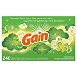 Gain Dryer Sheets, Original, 240 Count (Packaging May Vary) - Pack of 5