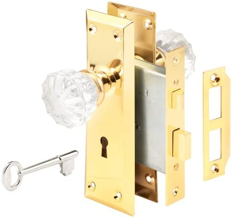 ca #3611 Unused Original Lockwood Door  Mortise Bit Key Lock 1935 Skeleton