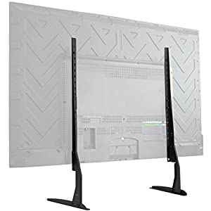 """VIVO Universal LCD Flat Screen TV Table Top VESA Mount Stand Black 