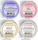 Bath and Body Works 4 Pack Favorites Scentportable Fragrance Refill. 0.2 oz