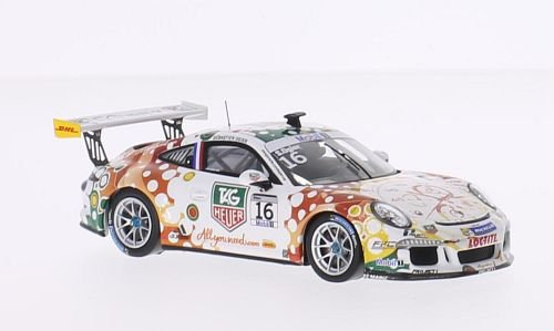 Porsche 911 (991) GT3 Cup, No.16, day Heuer, Porsche SuperCup, Monaco, 2013, Model Car, Ready-made, Spark 1:43 (Gt3 Porsche Cup)