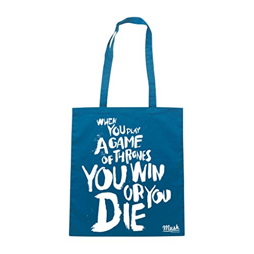 Borsa GAME OF THRONES PLAY GAME - Grigio - FILM by Mush Dress Your Style
