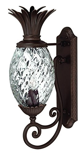 (Hinkley 2220CB Tropical/British Colonial One Light Wall Mount from Plantation collection in Copperfinish,)